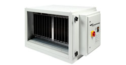 Kitchen hood Air Filtration System